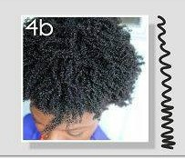 type cheveux b